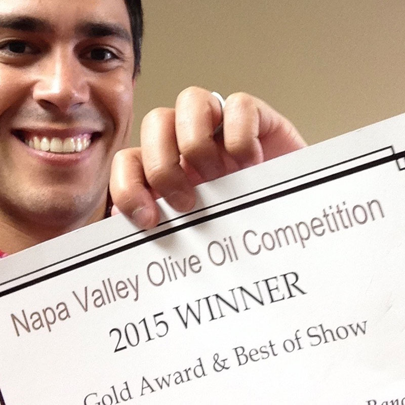 Tasting, Blending and Choosing – Award Winning Extra Virgin Olive Oil img